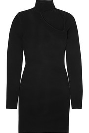 Dion Lee Cutout stretch-knit mini dress