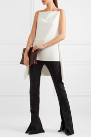 Dion Lee Asymmetric crepe tunic