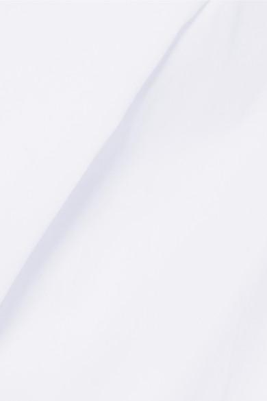 Dion Lee Hemd aus Baumwollpopeline mit Rückenausschnitt