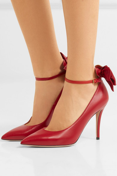 Gucci Pumps Queen Margaret embellished leather Mary Jane pumps