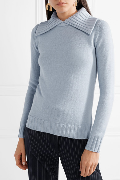 Co Pullover aus einer Woll-Kaschmirmischung