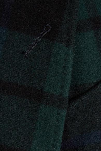 Burberry Doppelreihiger Mantel aus einer Woll-Kaschmirmischung mit Tartan-Muster Billig Verkauf Rabatte Spielraum Großhandelspreis Spielraum Shop Günstig Online Pick Ein Besten Zum Verkauf 100% Authentisch u4utVR