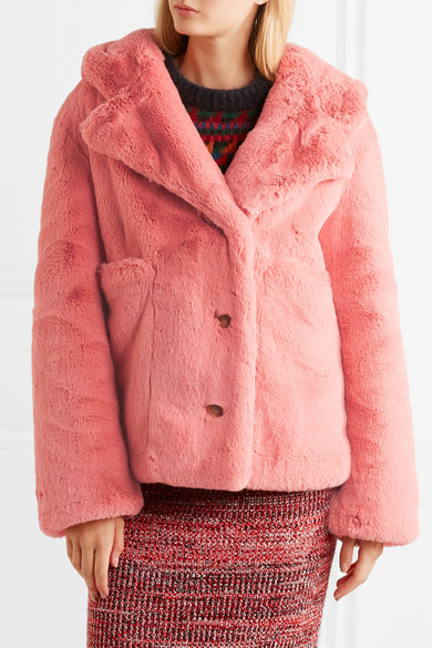 Burberry Jacket Made Of Faux Fur