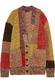 Burberry Patchwork wool-blend cardigan