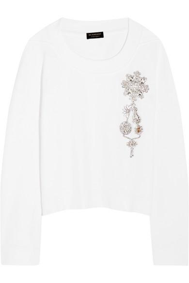 Billig 100% Garantiert Burberry Sweatshirt aus Baumwoll-Jersey Billig Verkauf Große Diskont 2018 Neuester Günstiger Preis atSXWEtcR