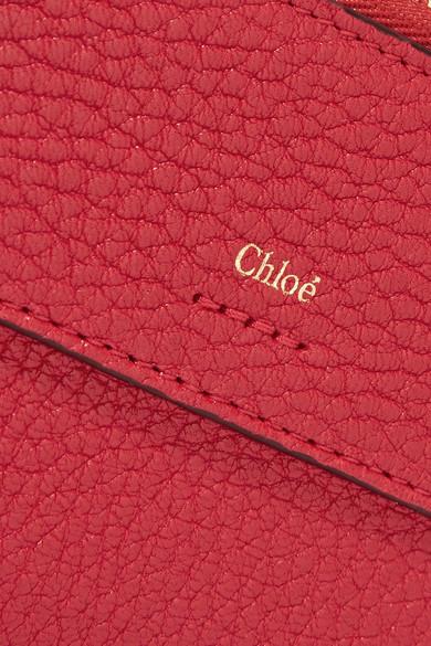 Chloé Drew Kartenetui aus strukturiertem Leder