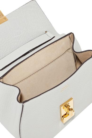 Chloé Drew mini Schultertasche aus strukturiertem Leder