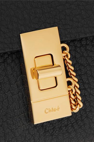 Chloé Portemonnaie im europäischen Stil aus strukturiertem Leder