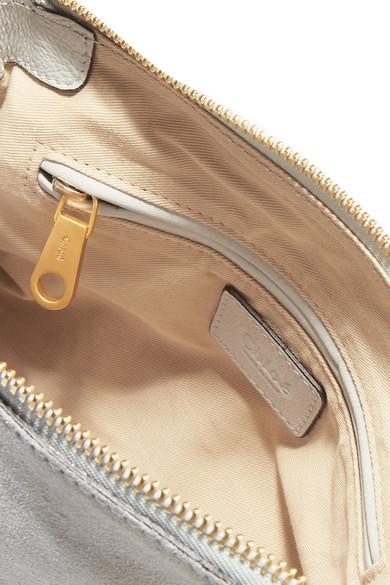 Verkauf Ebay Chloé The Marcie kleine Schultertasche aus Veloursleder mit Überwendlichstich Billig Perfekt #NAME? Vorbestellung Für Verkauf Freie Versandrabatte FlYBNmsX
