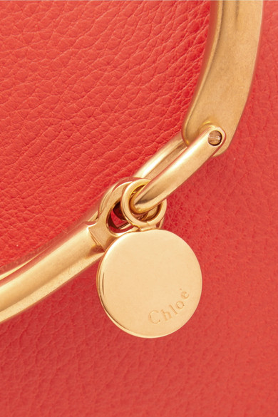 Chloé Nile Bracelet Shoulder Bag Made Of Leather And Suede