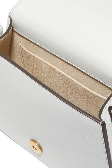 Chloé Nile kleine Schultertasche aus strukturiertem Leder