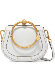 Chloé Nile small textured-leather shoulder bag
