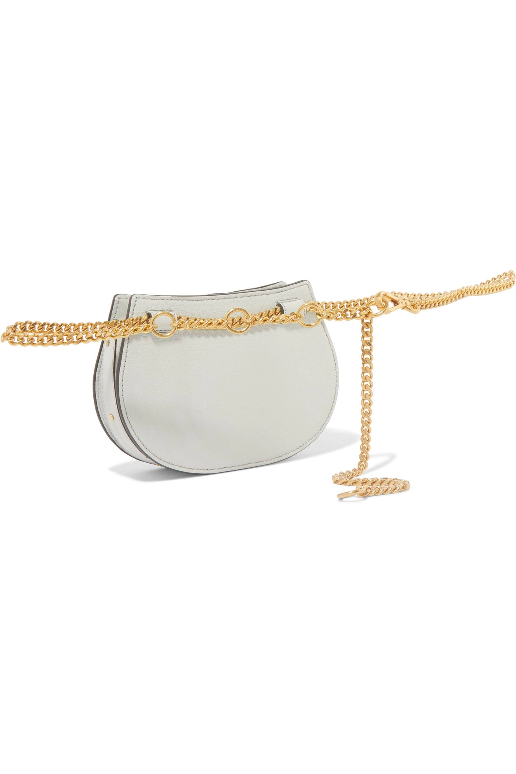 Chloé Pixie mini suede and leather belt bag