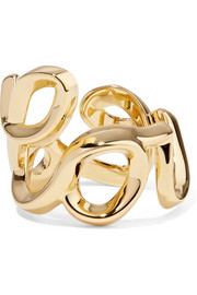 Chloé Love gold-tone ring