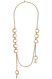 Chloé Quinn gold-tone necklace