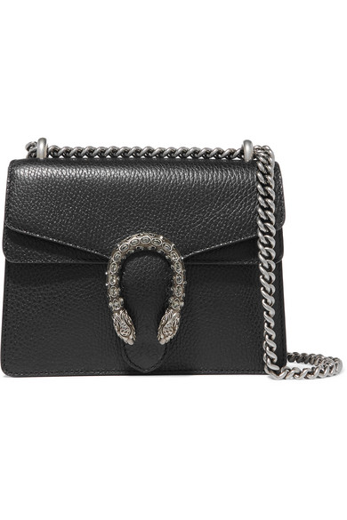Dionysus Medium Textured-leather Shoulder Bag - one size Gucci SaYES