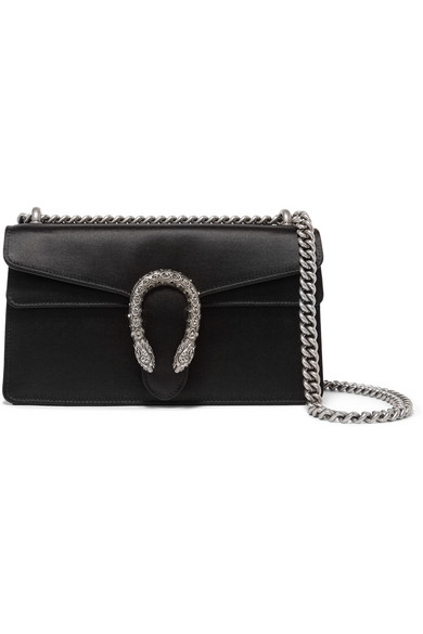 f112d8e7b2b8 Gucci | Dionysus satin shoulder bag | NET-A-PORTER.COM
