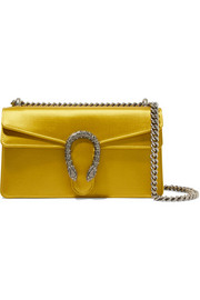 Dionysus satin shoulder bag