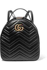 GG Marmont quilted leather backpack
