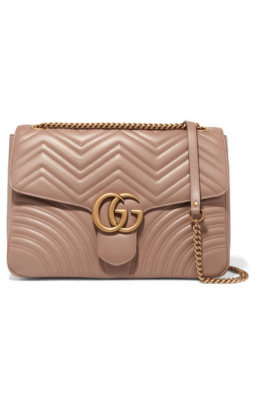 0a9ed744e38 Gucci. GG Marmont large quilted leather shoulder bag