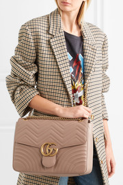 GG Marmont large quilted leather shoulder bag