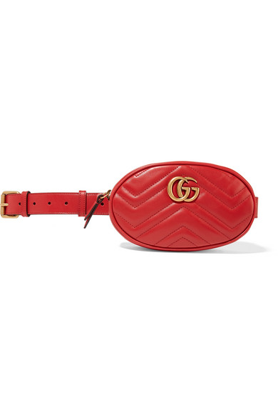 964a2be7f15e4b Gucci | GG Marmont quilted leather belt bag | NET-A-PORTER.COM