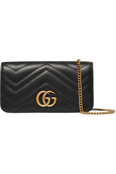 df811a65d40 Gucci. GG Marmont mini quilted leather shoulder bag