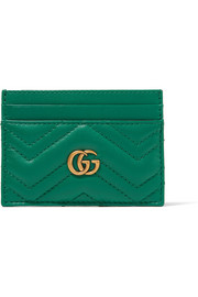 Gucci GG Marmont quilted leather cardholder