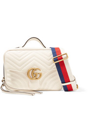 Gucci GG Marmont Camera quilted leather shoulder bag