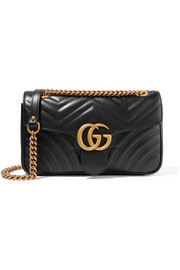 GG Marmont small quilted leather shoulder bag