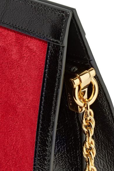 Gucci Ophidia Schultertasche aus Veloursleder mit Lacklederbesätzen Breite Palette Von Spielraum Viele Arten Von Steckdose Neu 7wNiwmyLx