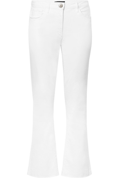 W25 mid-rise cropped flared jeans 3 X 1 9MlLpY
