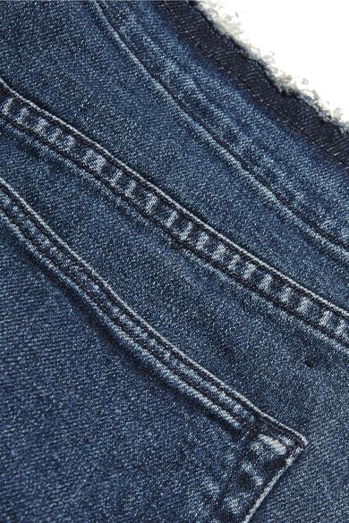 Günstig Kaufen Bestellen Einkaufen Genießen 3x1 W4 Shelter hoch sitzende Jeans mit schmalem Bein und Distressed-Details Spielraum Veröffentlichungstermine Billig Verkauf Großer Verkauf 5jGyz