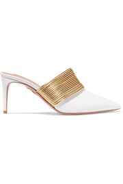 Aquazzura Rendez Vous leather mules