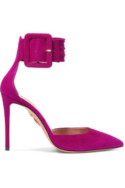 Casablanca Pumps aus Veloursleder