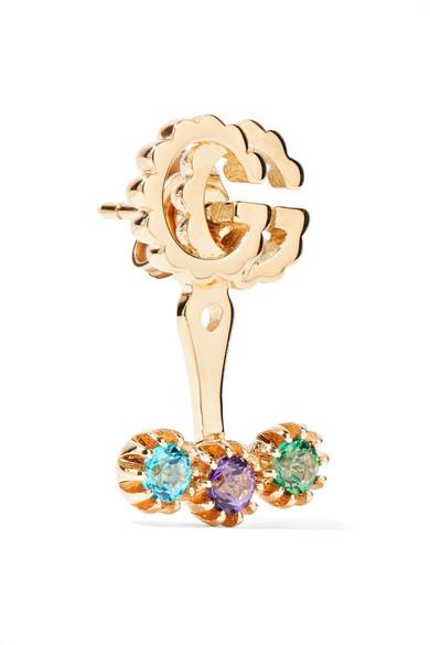 Gucci 18-karat Gold Topaz Earring sg9lA1AC6O