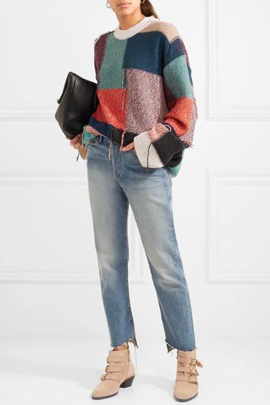 f1c4b16625 Chloé | Susanna studded suede ankle boots | NET-A-PORTER.COM