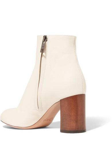 Chloé Harper Palmer Ankle Boots aus strukturiertem Leder  Spitzenreiter Online Kaufen  Verkaufsschlager RiBicv5I