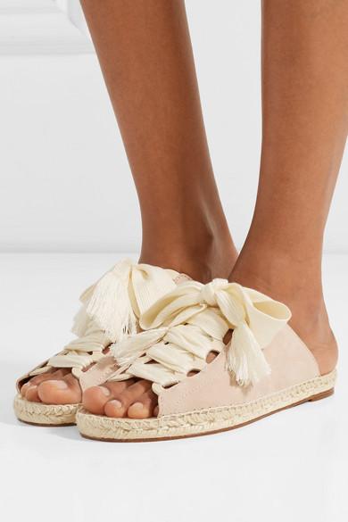 5072ce64e7 Harper lace-up suede sandals