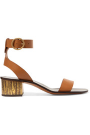 Chloé Qassie leather sandals