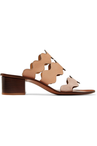 Lauren leather sandals Chlo J4GcTxL3e