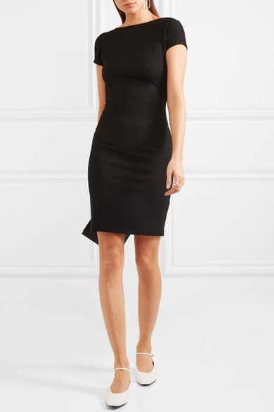 Minidress Getty Rosetta From Stretch Jersey With Back Cutout