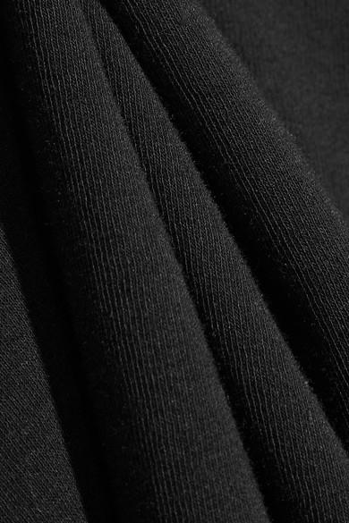 Rosetta Getty Baumwoll-T-Shirt mit Rückenausschnitt