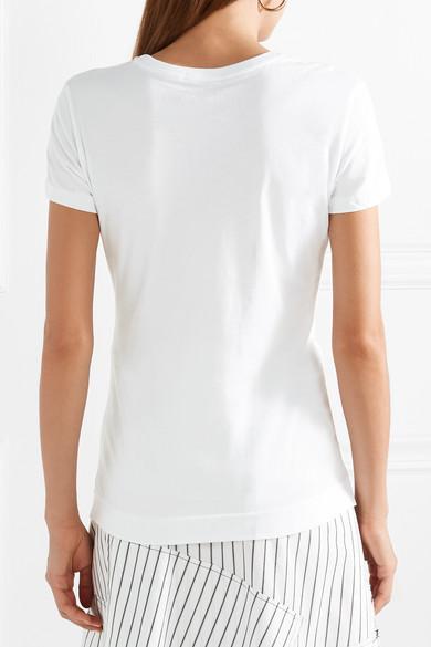 Adam Lippes T-Shirt aus Pima-Baumwolle