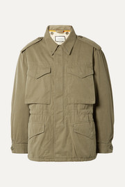 Gucci Printed cotton-canvas parka