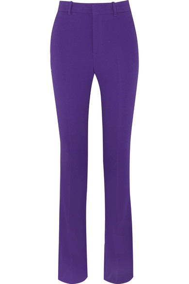 Gucci - Cady Flared Pants - Purple