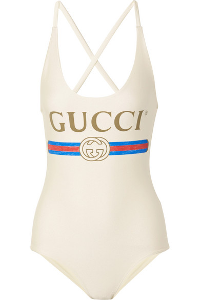 ee88403834 Gucci | Printed swimsuit | NET-A-PORTER.COM