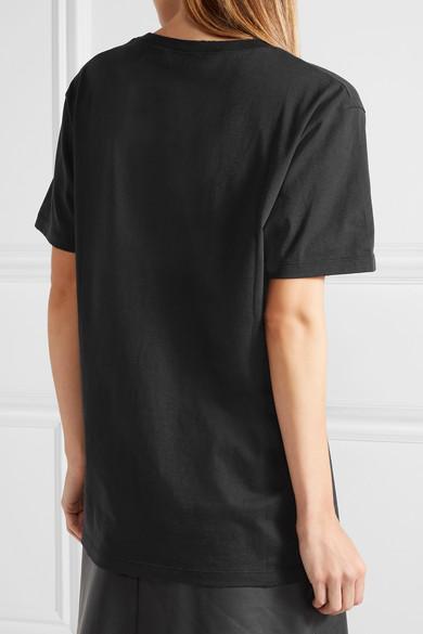 Gucci Bedrucktes Oversized-T-Shirt aus Baumwoll-Jersey Spielraum Zahlung Mit Visa A1idC3X