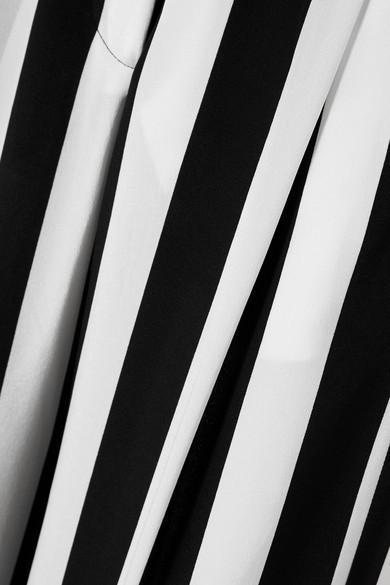 Rabatt In Deutschland Besuchen Neue Online Michelle Mason Gestreifte Seidenhose mit weitem Bein aus Crêpe de Chine Sneakernews Online Auslass Manchester Großer Verkauf Günstig Kaufen Kauf XJTViw9Zs9