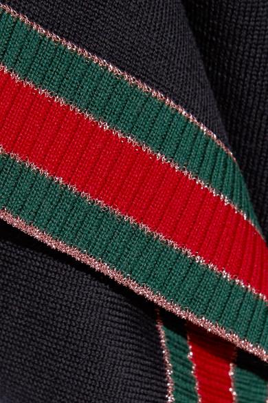 Unisex Freies Verschiffen Zahlung Mit Visa Gucci Wollpullover mit Streifen sBUut